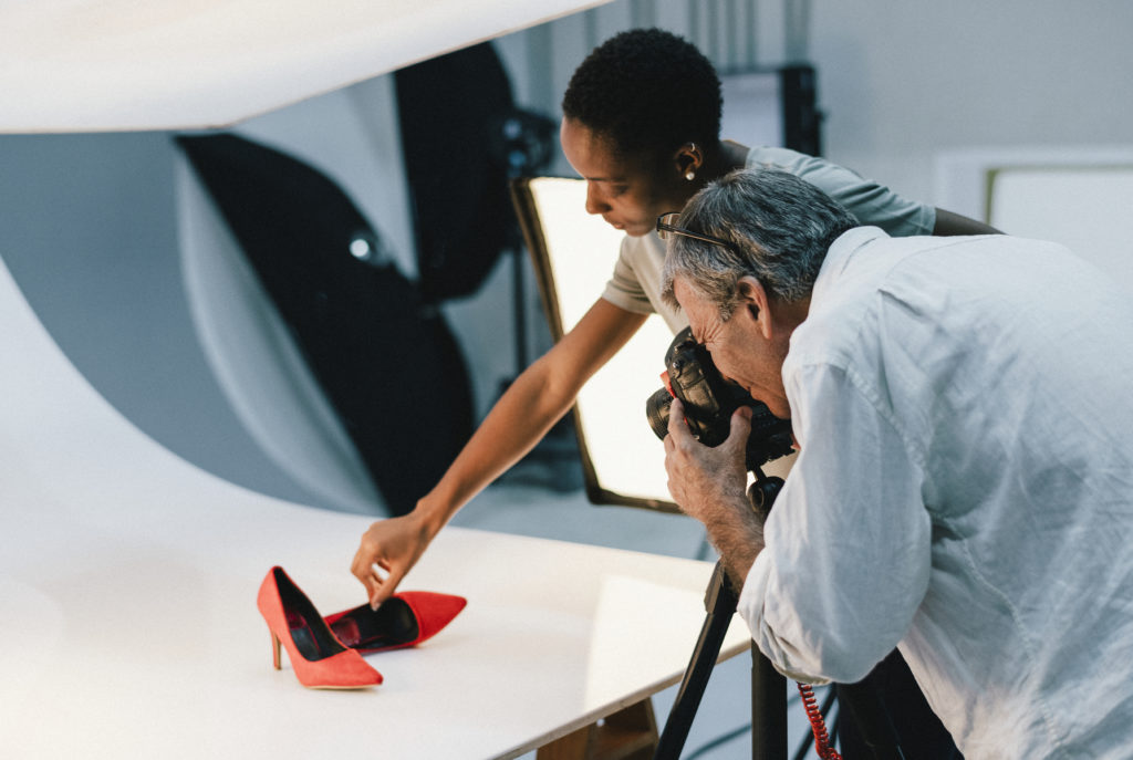 Taking Product Photos