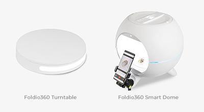 Foldio360 Turntable, Foldio360 Smart Dome